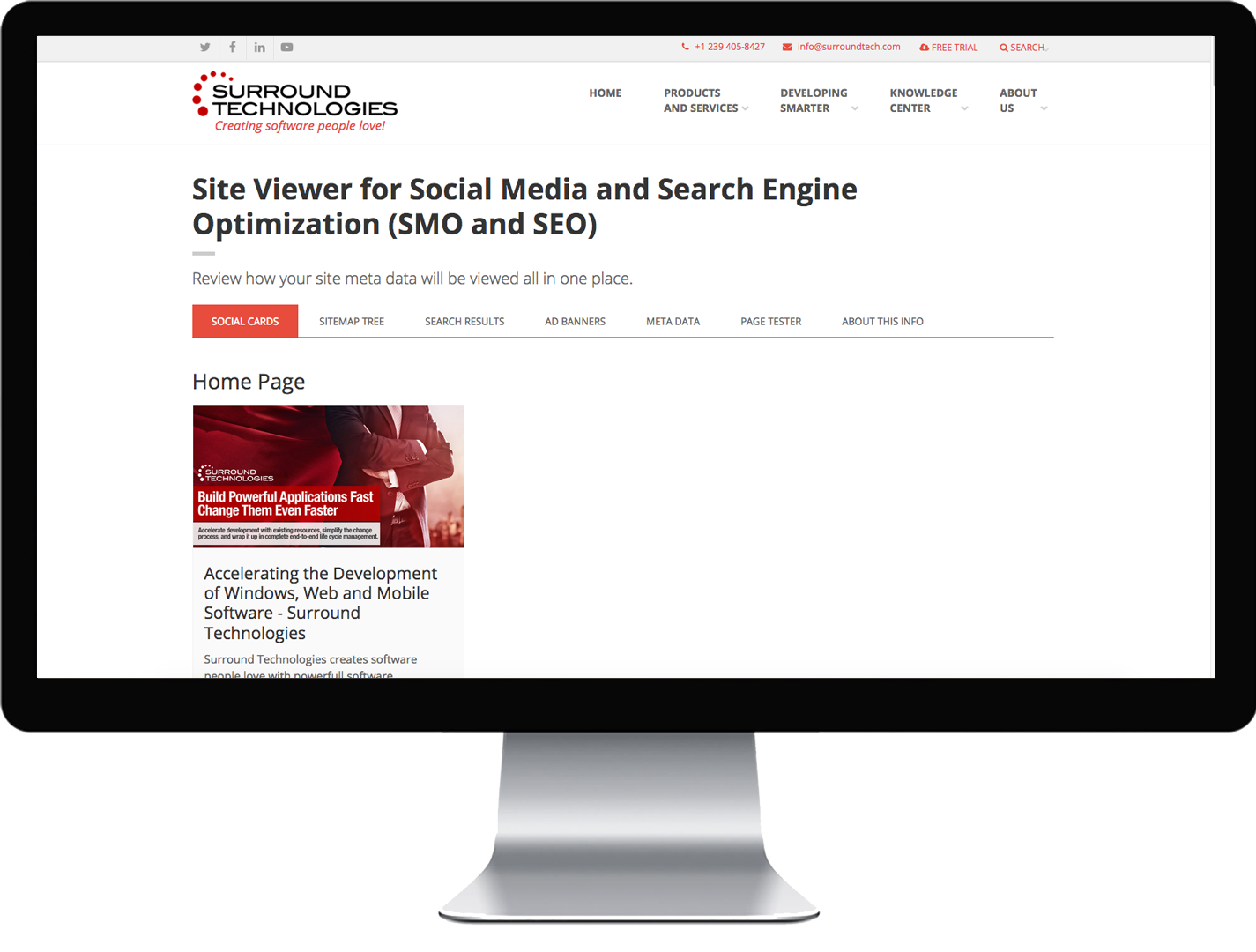 SEO/SMO Site-wide Viewer tool